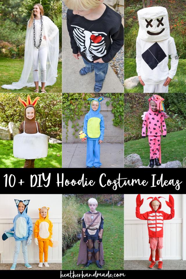 diy hoodie costumes