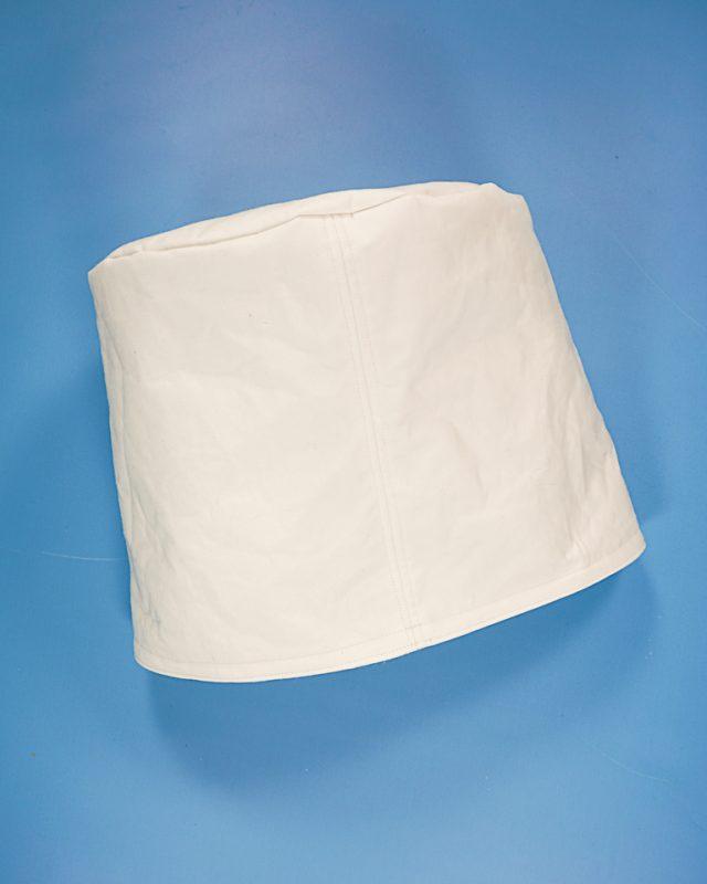 make a white bucket