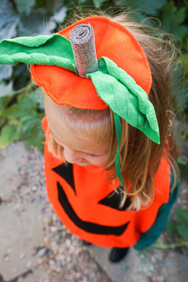 DIY Pumpkin Costume for Kids