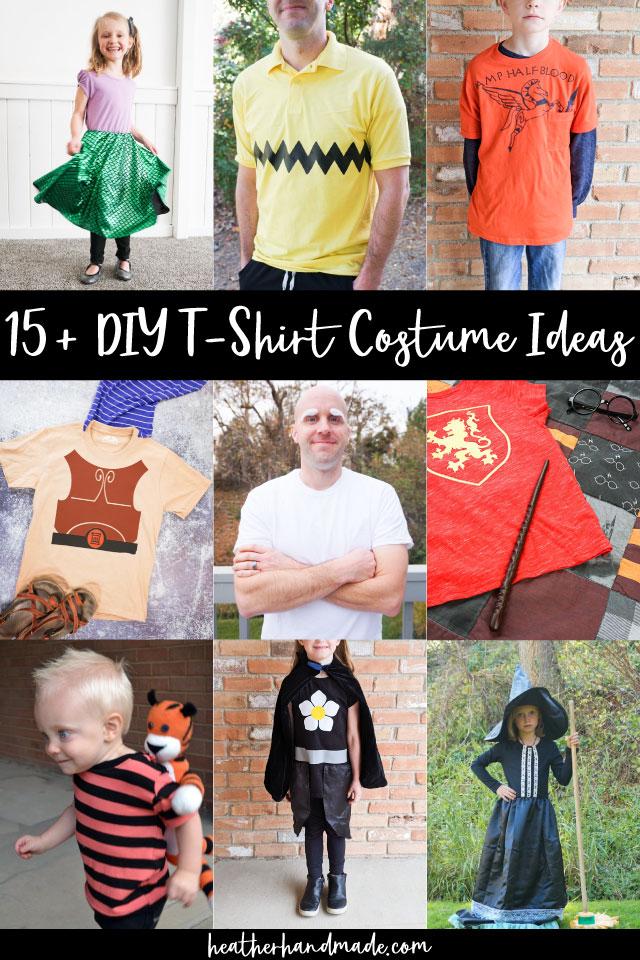 diy t-shirt costume ideas