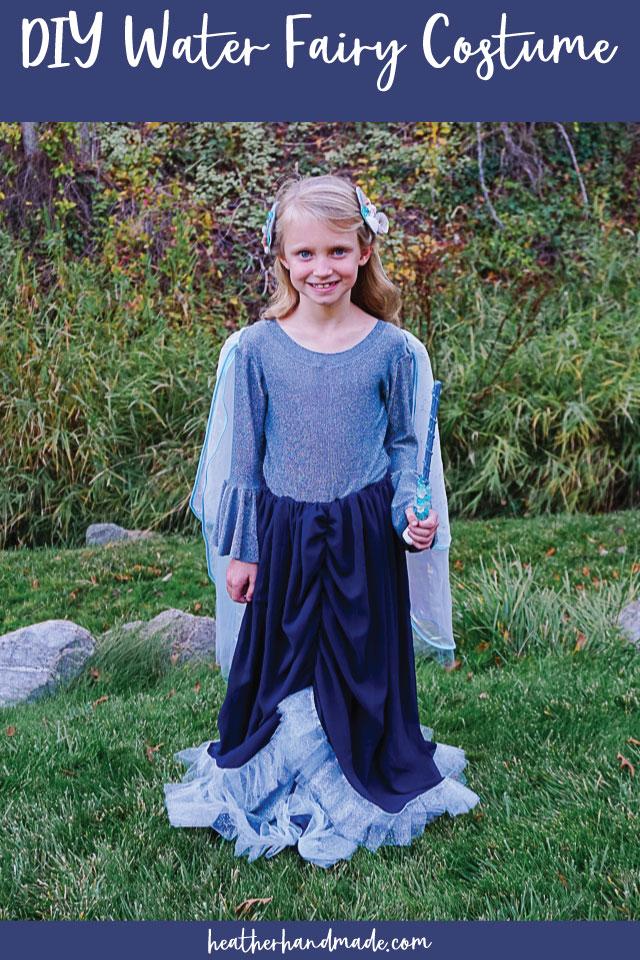 diy water fairy costume